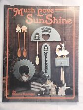 Much Love Sunshine - Roxana Bussinger  - folk art  tole painting patterns