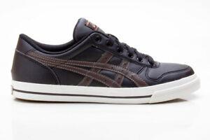 Asics Aaron H934Y 9028 Unisex Sneaker schwarz-dunkelbraun