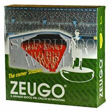 NUOVO in scatola ZEUGO Stadium Angolo Stand & 50 NON VERNICIATA spettatori Subbuteo Stadium.