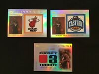 2003-04 Dwyane Wade RC Topps Contemporary Luck Draw 057/175, 50/50, And 173/250