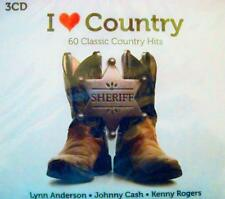VARIOUS ARTISTS - I LOVE COUNTRY: 60 CLASSICS - 3 CDs