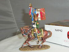 CENTURION NAP042 FRENCH IMPERIAL GUARD EMPRESS DRAGOONS EAGLE BEARER MOUNTED