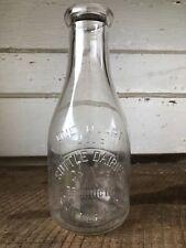 Antique Milk Bottle Embossed Qt Suttle Dairies Suttle Alabama AL