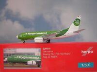 Herpa Wings 1:500  Boeing 737-700 Germania D-AGER 529518 Modellairport500