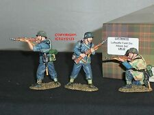 KING And Country lw22 TEDESCO LUFTWAFFE campo divisione ATTACCO giocattolo soldato Set
