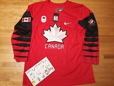 NWT Team Canada Nike 2018 Olympic Winter Games Ice Hockey Men Jersey Large