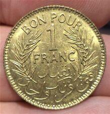 SUPERBE 1 FRANC TUNISIE 1941