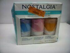 Nostalgia CCFS300 Cotton Candy Flossing Sugar Grape, BubbleGum Orange