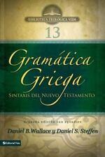 GRAMßTICA GRIEGA / GREEK GRAMMAR BEYOND THE BASICS - WALLACE, DANIEL/ STEFFEN, D