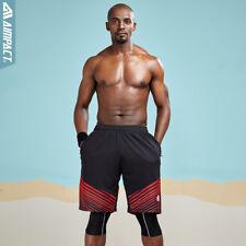 Sport Running Shorts for Men Fast Dry Basketball Training Gym Workout Trunks Man