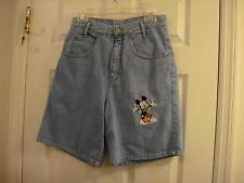 Women's Mickey Unlimited  Relaxed Fit  Denim Shorts Size Medium 9/10