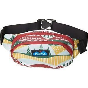 Kavu SPECTATOR Waist Pack Belt Bag Fanny Pack Pouch HARVEST LANDS NWT!