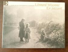 LEONARD MISONNE EN PASSANT Musée de la photographie CHARLEROI 2004