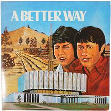 A BETTER WAY LP 70s Private Press RARE 1973 Mormon LDS Xian Christian Folk EX/EX