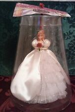 "VHTF ""Enchanted"" Giselle Ornament; Tree Topper in Wedding Gown Disney Store NIP"