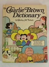 Vintage CHARLIE BROWN DICTIONARY Illustrated Book 2400 Words Defined, full color