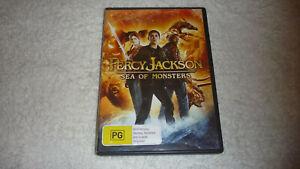Percy Jackson - Sea of Monsters - VGC - DVD - R4