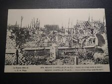 CPA New Chapelle Aspect of / The Village After La Bataille Guerre 1914 15