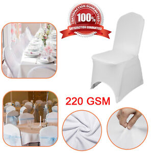 Spandex Premium Quality Chair Cover 220GSM Stretch Polyester cover Wedding Party