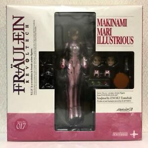 Neon Genesis Evangelion Revoltech Fraulein Makinami Mari Figure Kaiyodo Japan