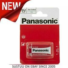 Panasonic Zinc Carbon Battery│9 Volt Smoke Alarms│LR22