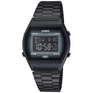 NEW Casio Watch b640wbg-1bef Black Glitter Excellent Quality Casual Steel