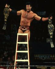 RAZOR RAMON 8X10 PHOTO WRESTLING PICTURE WWF WWE SCOTT HALL LADDER MATCH