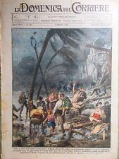 La Domenica del Corriere 3 Ottobre 1926 Milano San Siro Tunney Mussolini Dempsey