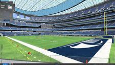 2 Tickets FRONT ROW Los Angeles Chargers VS New York Giants Sec C117 LA NY