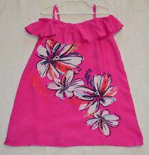 NWT Gymboree Girls Pink Hibiscus Floral Tank Top Sundress - SIZE 5