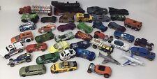 Lot Of 40 1:64 Diecast Toy Vehicles(Cars, Trucks & More): Hot Wheels, Matchbox +