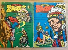 TWO Greek Comics Μικρός Σερίφης issue 773 & 777 (rare 1978 little sheriff books)
