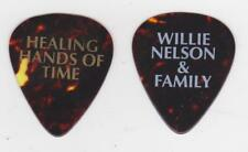 WILLIE NELSON & FAMILY GUITAR PICK HEALING HANDS OF TIME TOUR Outlaw Country USA