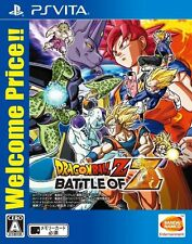 Used PS Vita Dragon Ball Z BATTLE OF Z Welcome Price Japan PlayStation