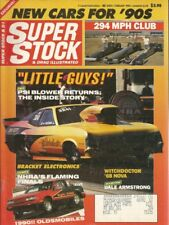 SUPER STOCK 1990 FEB - FUTURE HEROES, 5 GREATEST SS CARS, ARMSTRONG