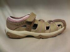 Clarks Girls Garcon Beige Pink Walking Tail Hiking Shoes Kids Youth Size 12.5