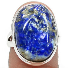 Lapis Druzy 925 Sterling Silver Ring Jewelry s.7 LDZR80