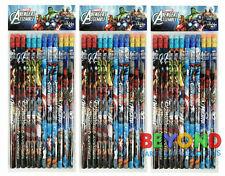 Marvel Avengers Assemble Wooden Pencils School Supplies Pencils Party Favors