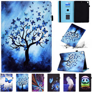 Smart Leather Cover Stand Case Wallet For iPad 5 6 7 8th Gen Mini Air 4 Pro 11