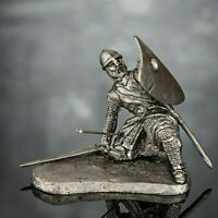 Toy Soldiers Figures Knight 54mm Metal Miniature 1/32 Military Tin Sculpture