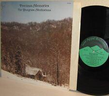 1982 The BLUEGRASS MEDITATIONS LP Precious Memories on June Appal  Ex / Ex