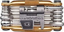Crank Brothers M17 Multi Tool for Bicycle - 17 Bike Tools - Gold -- NEW