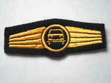Marine allemande / Marine Abz. pour Conducteurs de puissance en bleu / or