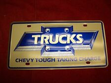 1984 NOS Chevy Truck C10 Blazer Suburban Chevy Tough Taking Charge Vanity Plate
