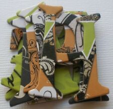 """GOTHIC HALLOWEEN Chipboard Letters Alphabet Die Cuts  -  1.5"""" Tall"""