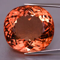 48.11cts Massive! Orangy Pink. Natural Unheated Morganite From Brazil Fine G!