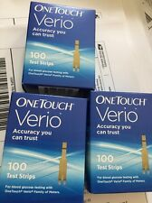 100 One Touch VERIO Test Strips Exp 03:2018 Sale 39.99 USA