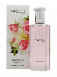 YARDLEY ENGLISH ROSE EAU DE TOILETTE EDT 125ML SPRAY - WOMEN'S FOR HER. NEW