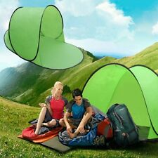 Poldable Pop Up Beach Shelter Camping Sun Shade Tent Canopy Hiking Fishing