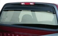 GT Styling 57246 Shadeblade Rear Window Deflector Smoke 1 pc Shadeblade Rear Window Deflector